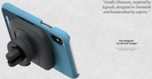 Чехол для iPhone XS Max Nordic Elements Season Kollektion Case Freja Petrol (E20317)