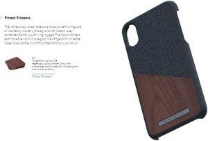 Чехол для iPhone XS Max Nordic Elements Season Kollektion Case Frejr Dark Gray (E20318)