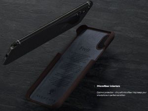 Чехол для iPhone XS Max Nordic Elements Season Kollektion Case Frejr Cognac (E20319)