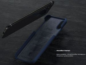 "Чехол для iPhone XS/X (5.8"") Nordic Elements Season Kollektion Case Frejr Navy (E20260)"