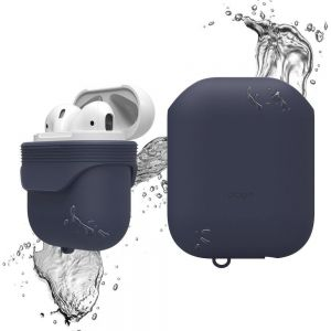 Водонепроницаемый чехол для зарядного кейса AirPods 1 (2016) Elago Waterproof Case Jean Indigo for Airpods (EAPWF-BA-JIN)