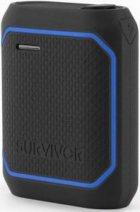 Внешний аккумулятор Griffin SURVIVOR POWER BANK 10050 mAh - Black/Blue (GC42498)