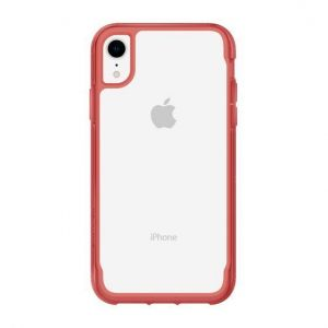 Чехол для iPhone XR (6.1'') Griffin Survivor Clear - Clear/Tomato (GIP-002-CTM)