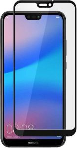 Защитное стекло для Huawei P20 Lite PowerPlant Full screen Black