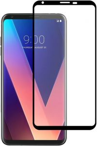 Защитное стекло для LG V30 / V30 Plus (H930) PowerPlant Full screen Black