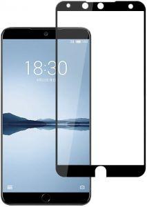 Защитное стекло для Meizu 15 PowerPlant Full screen Black