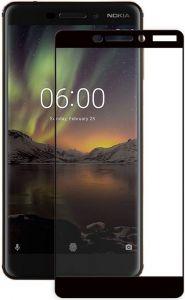 Защитное стекло для Nokia 6.1 PowerPlant Full screen Black