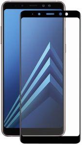 Защитное стекло для Samsung Galaxy A8+ 2018 (A730) PowerPlant Full screen Black