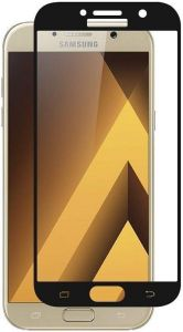 Защитное стекло для Samsung Galaxy A7 2017 (A720) PowerPlant Full screen Black