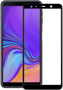 Защитное стекло для Samsung Galaxy A7 (A750) (2018) PowerPlant Full Screen Black (GL606023)