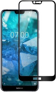 Защитное стекло для Nokia 7.1 PowerPlant Full Screen Black (GL606221)