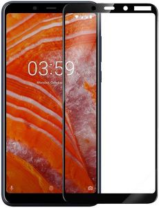 Защитное стекло для Nokia 3.1 Plus PowerPlant Full Screen Black (GL606245)