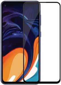 Защитное стекло для Samsung Galaxy A60 (A6060) PowerPlant Full Screen Black (GL606870)