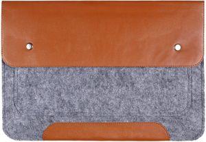 Чехол-конверт для MacBook 12'' (2015-2017) Gmakin Brown (GM02-12)