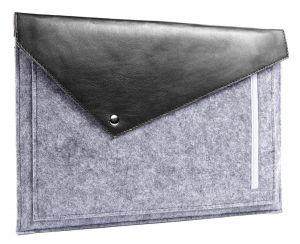 Чехол-конверт для MacBook 12'' (2015-2017) Gmakin Grey (GM13-12)