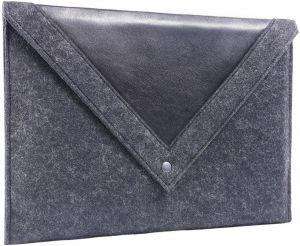 Чехол-конверт для MacBook 12'' (2015-2017) Gmakin Black (GM23-12)