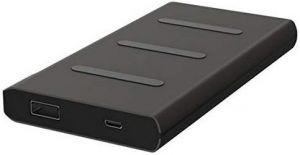 Внешний аккумулятор с беспроводной зарядкой (5W) Griffin Reserve Wireless Charging 5W Power Bank 5000mAh Black (GP-023-BLK)
