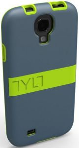Чехол для Samsung Galaxy S4, S4 Black Edition (I9500) TYLT LIME BAND SHIELD (GS4DPBNDL-T)