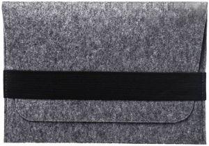 Чехол-конверт войлочный для планшетов с диагональю 9.7'' - 10.5'' горизонтальный Gmakin Light Grey (GT03)