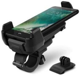 Держатель для телефона (до 6,5'') и GoPro на велосипед iOttie Active Edge Bike Mount for iPhone & Smartphones - Black (HLBKIO102GP)