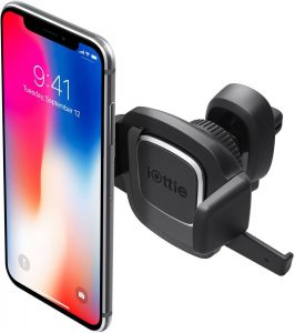 Автодержатель для iPhone X / XS / XR / XS Max / 8 Plus / 8 / 7 Plus / 7 / 6 Plus / 6 / SE / 5 iOttie Easy One Touch 4 Air Vent Mount (HLCRIO126)