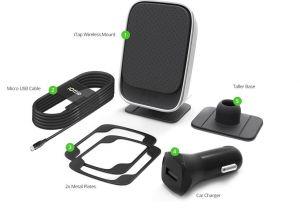 Автомобильный держатель с беспроводным зарядным устройством iOttie iTap Wireless Fast Charging Magnetic Car Mount (HLCRIO133)