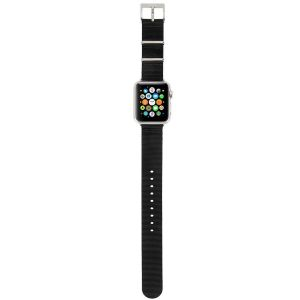 Нейлоновый ремешок для Apple Watch 38mm (Серия 1/2/3) / 40mm (Серия 4/5) Incase Nylon Nato Band Black (INAW10011-BLK)