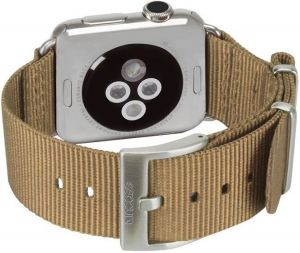 Нейлоновый ремешок для Apple Watch 38/40mm Incase Nylon Nato Band Bronze (INAW10011-BRZ)