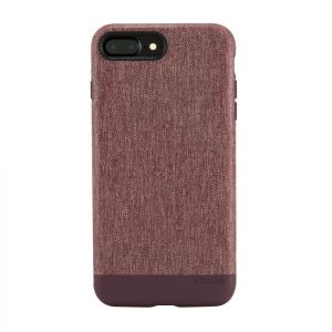 Чехол для iPhone 8 Plus / 7 Plus (5.5'') Incase Textured Snap Heather Deep Red (INPH180242-HDR)