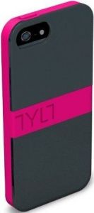 Чехол для iPhone 5/5S/SE TYLT NEON PINK BAND SHIELD (IP5DPBNDNP-T)