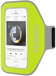 Спортивный чехол на руку для iPhone SE и iPhone 5/5S/5C Incipio Performance Armband - Neon Green (IPH-1066-GRN)