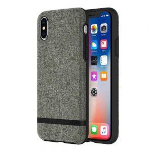 Чехол для iPhone X Incipio Esquire Series - Forest Gray (IPH-1631-FGY)