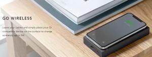 Внешний аккумулятор с беспроводной зарядкой (5W) Native Union Jump Powerbank PD Wireless 12 000 mAh Slate (JUMP+-PD-12K-GRY)