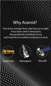 Сверхпрочный чехол для iPhone XS/X Pitaka Aramid Case Black/Grey (KI8001)