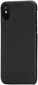 Сверхпрочный чехол для iPhone XS/X Pitaka Aramid Case Black/Grey (KI8001)
