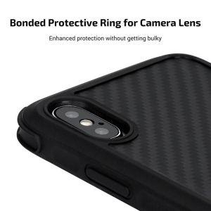 Сверхпрочный чехол для iPhone XS/X Pitaka Aramid Pro Case Black/Grey (KI8001XSP)