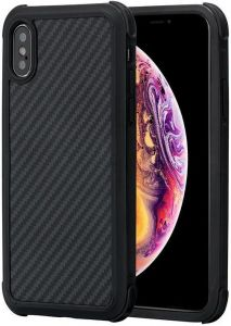 Сверхпрочный чехол для iPhone XS/X Pitaka Aramid Pro Case Black/Grey (KI8001XSP)