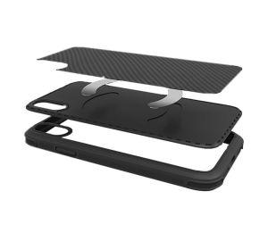 Сверхпрочный чехол для iPhone XS MAX (6.5'') Pitaka Aramid Pro Case Black/Grey (KI9001XMP)