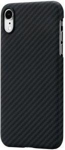 Сверхпрочный чехол для iPhone XR (6.1'') Pitaka Aramid Case Black/Grey (KI9001XR)