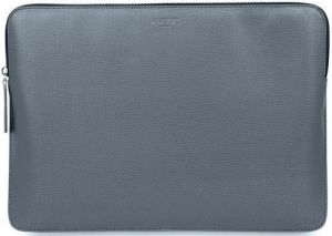 Чехол для MacBook 12'' (2015-2017) Knomo Geometric Embossed Laptop Sleeve Silver (KN-14-209-SIL)
