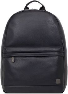 """Кожаный рюкзак для ноутбуков с диагональю до 15'' Knomo Albion Backpack 15.6"""" Black (KN-45-401-BLK)"""