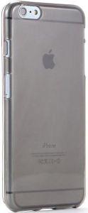 Чехол для iPhone 6 Plus / 6S Plus (5.5'') Kuboq Ultra Thin TPU Case Clear Shadow - Solid Black (+ пленка) (KQAPIPL6CSWBKTPU)