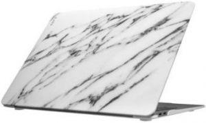 "Чехол-накладка для MacBook Air 13"" (2018) Laut HUEX ELEMENTS White Marble (LAUT_13MA18_HXE_MW)"