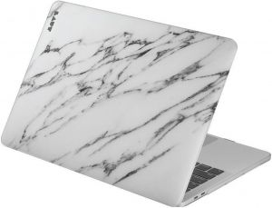 Чехол для MacBook Pro 13'' Retina (2016-2018'') LAUT HUEX Marble White (LAUT_13MP16_HXE_MW)