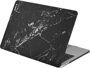 Чехол для MacBook Pro 13'' Retina (2016-2018'') LAUT HUEX Marble Black (LAUT_13MP16_HXE_MB)