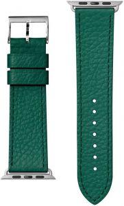 Кожаный ремешок для Apple Watch 42mm (Серия 1/2/3) / 44mm (Серия 4/5) LAUT MILANO Emerald (LAUT_AWL_ML_GN)
