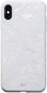 Чехол для iPhone XS MAX (6.5'') LAUT PEARL White (LAUT_IP18-L_PL_W)