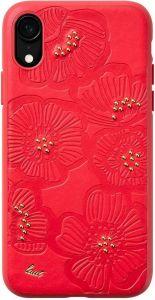 Чехол для iPhone XR (6.1'') LAUT FLORA Red (LAUT_IP18-M_FL_R)