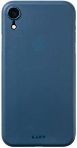 Чехол для iPhone XR (6.1'') LAUT SLIMSKIN Blue (LAUT_IP18-M_SS_BL)
