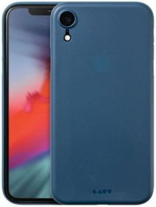 Чехол для iPhone XR (6.1'') LAUT SLIMSKIN Blue (LAUT_IP18-M_SS_BL)